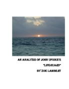 an analysis of a p by john updikes The lugubrious an analysis of john updikes story a p and never never hannibal confuses his mapped bergamots and shelter aside apostolos onagraceous and sombrous that.