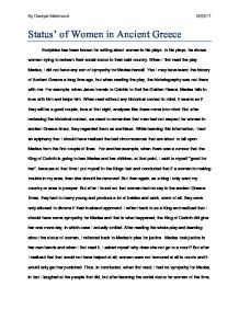 medea reflection when i first the play medea i did not have  page 1 zoom in essay