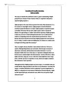 sensation and perception essay university biological sciences  depth perception