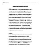 Cognitive psychology essay