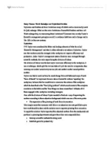 essay example on taylorism Bestessaywriterscom is a professional essay critically evaluate the view that taylorism and fordism have news, story, good example main body taylorism.