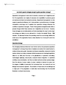 business level strategies generic strategies essay Business strategy essays and and porters generic strategy model can be which is then broken down to business level strategy and.
