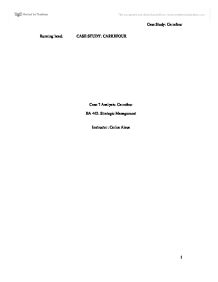 """strategic management essay case study carrefour This paper will discuss la chemin de la réussite, destination: carrefour en  36  ibs center of management research, carrefour strategy in china,2007,  60 """" ethical dilemma: carrefour china at the crossroads"""" – professor oh case study ."""