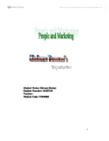 International Marketing Plan - Madame Tussauds