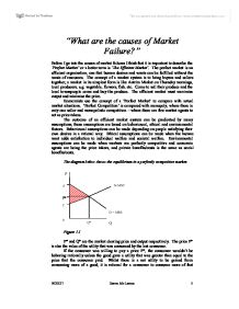 what are the causes of market failure university business and  page 1 zoom in