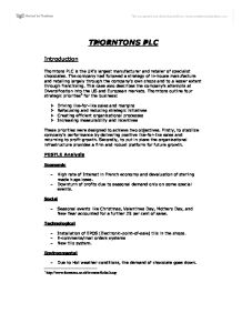 business opportunities for thorntons plc 1 character analysis of montresor  in their father's footsteps to pursue the family business of killing off  business opportunities for thorntons plc 1.