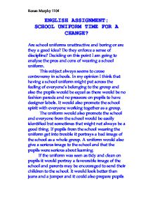 school uniform time for a change   university education and  page  zoom in