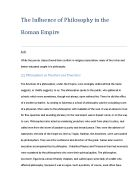 philosophy essay evaluate the view that life is absurd through  the influence of philosophy in the r empire a w
