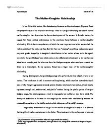 mother daughter relationship university historical and  page 1 zoom in essay