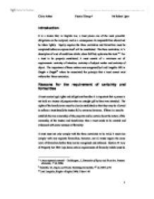 trust formalities essay