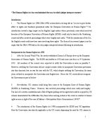 Essays on human rights act