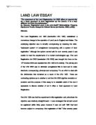 general principles of land law fixtures chattels university  the enactment of the land registration act 2002 offers an opportunity for a fresh