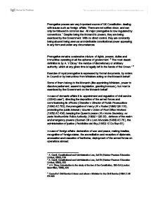 uk constitutional conventions essay