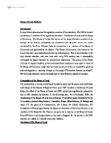 essay on bicameralism