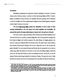 call of the wild critique university linguistics classics and page 1 zoom in