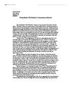 characte behavior essay