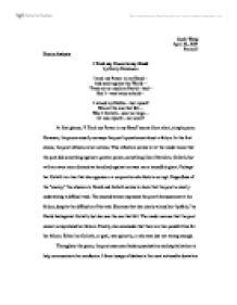essay on emily dickinson poems
