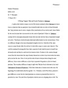The chrysanthemums essay