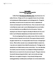 essay on morality huck finn Huckleberry finn essay this essay huckleberry finn essay and other 63,000+ term papers, college essay examples and free essays are available now on reviewessayscom.