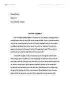 oroonoko essay thesis Do you need a similar or related assignment wish essays has been a choice of many for custom essays for over 10 years our writers and support staff are available 24/7.