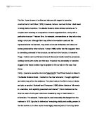 cinematic features essay Lighting is an important cinematic technique directors can use to set the mood for a particular scene tim burton style analysis essay outline.