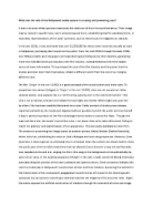 the hollywood studio system film studies essay Business in hollywood analytical essay by jay writtings llc (the rise of hollywood, the oxford guide film studies) the studio system.