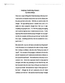 "An Analysis of ""Eveline"
