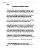 Presidential system of government essay