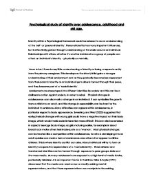 Essay adolescence adulthood