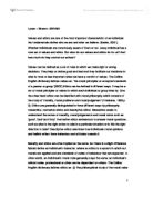 code of ethics social work values essay