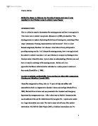 Nursing essays on interprofessional working