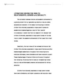 Sample Persuasive Essay High School  English Essay Ideas also Learn English Essay Academic Achievement Essay  Hepatitze Literary Essay Thesis Examples