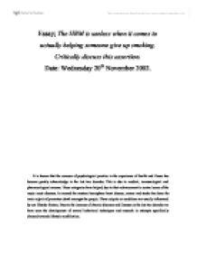 Critically discuss law essay