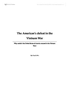 vietnam war study notes essay From a general summary to chapter summaries to explanations of famous quotes, the sparknotes the vietnam war (1945–1975) study guide has everything you need to ace quizzes, tests, and essays welcome to the new sparknotes your book-smartest friend just got a makeover.