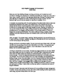 personal statement of goals and objectives for nursing school
