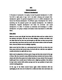 Child Case Study Essay