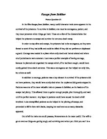 traits essay