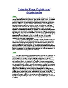 Gender Discrimination Essay   Cram