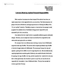 Essay On Personal Responsibility - hepatitze