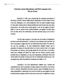 essay on war against terrorism  mistyhamel english essay on terrorism essays semutmyfreeipme war